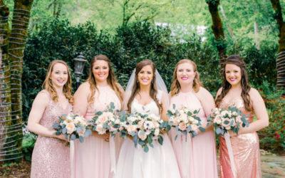 Megan and Christopher's Spring Wedding at Dara's Garden