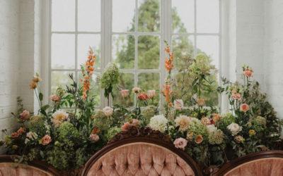 Floral Boho Bridal Portraits